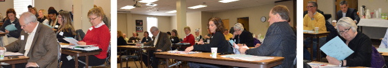 Photo: INARF's Annual Membership Meeting held on Febraury 27, 2015 at Easter Seals Crossroads in Indianapolis.