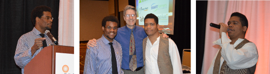 Andrew (Left), Craig (Center), and Micheal (Right) were the Keynote Speakers at this year's conference.